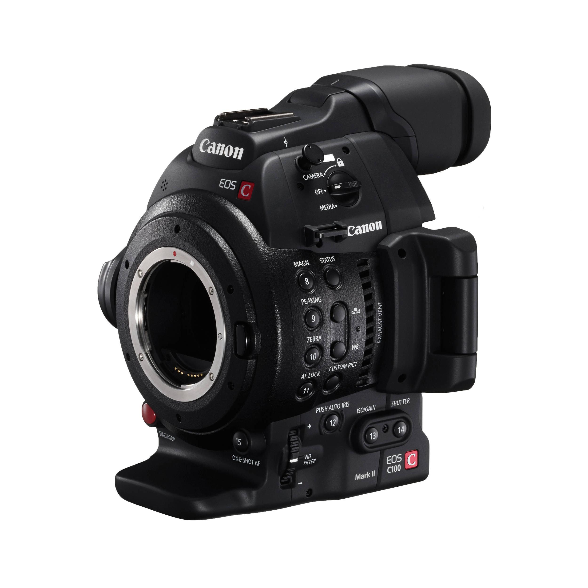 Caméra Canon C100 Mark II